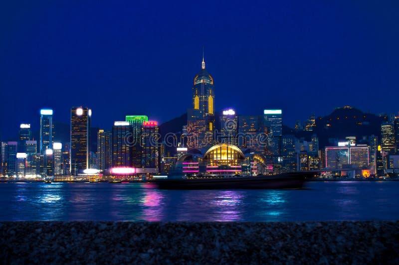 城市香港视图 免版税库存图片