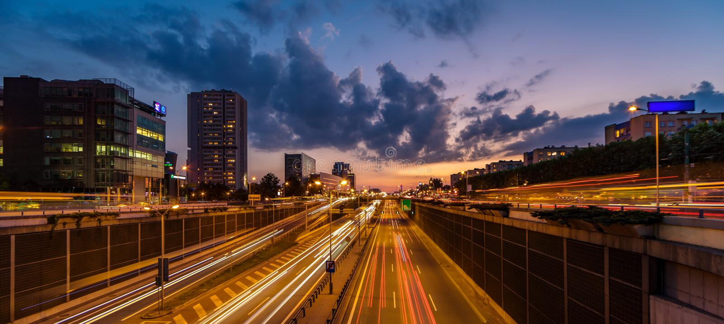 城市高速公路 图库摄影