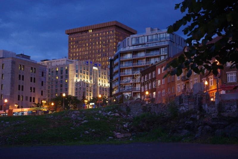 城市魁北克 图库摄影