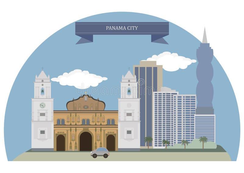 城市巴拿马 向量例证