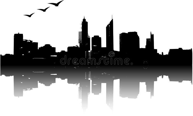 城市 库存例证