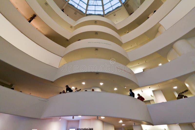 城市guggenheim博物馆新的solomon约克 免版税库存图片