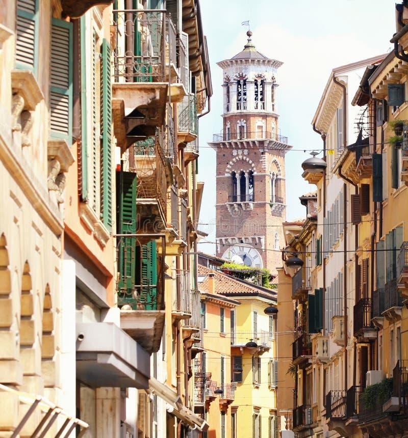 城市lamberti塔维罗纳 免版税库存照片