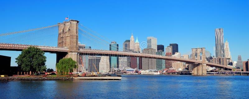 城市manhatta纽约 免版税库存照片