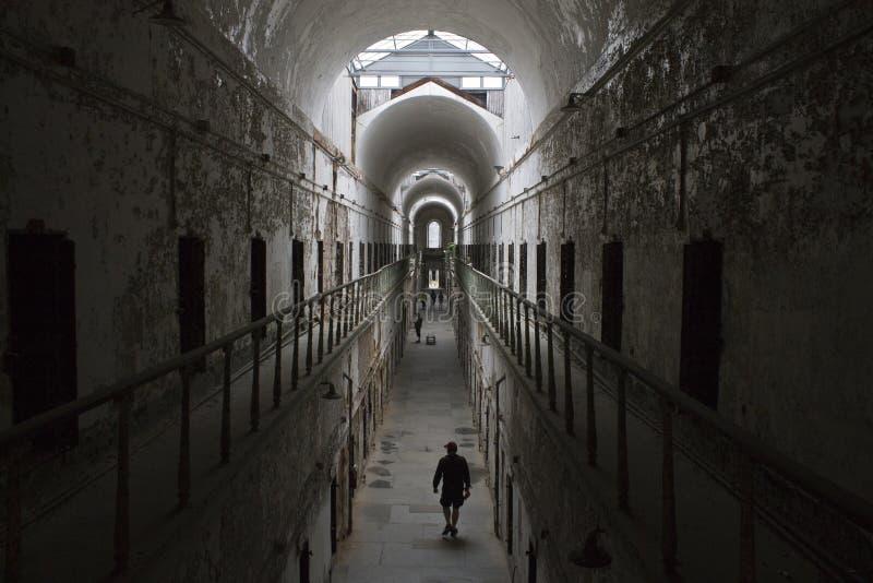费城监狱 图库摄影