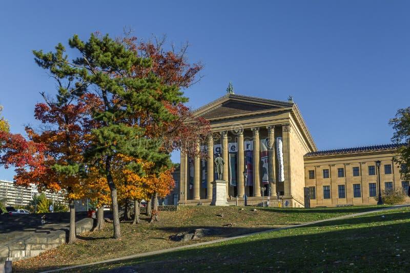费城美术馆 库存图片
