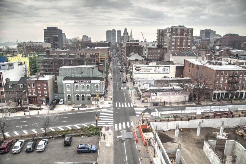 费城视图 免版税库存照片