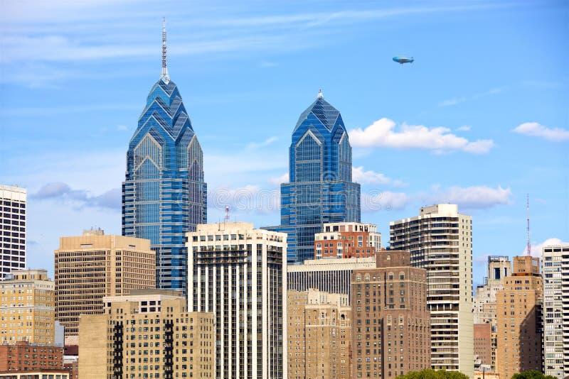 费城都市风景  免版税图库摄影