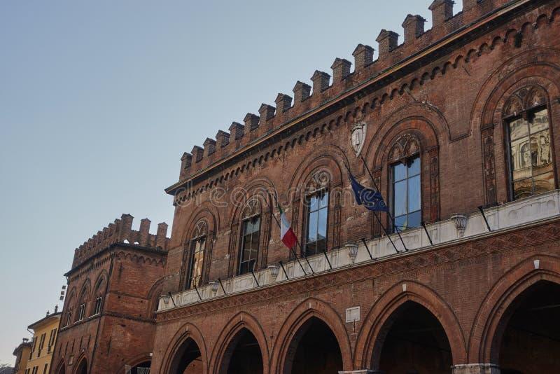 城镇厅克雷莫纳意大利 库存图片