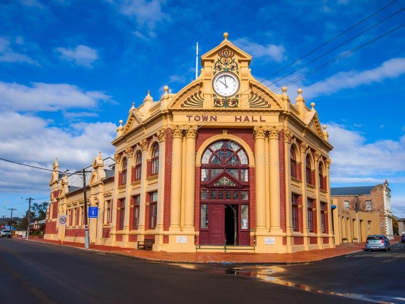 城镇厅,遗产大厦在约克,西澳州 免版税库存照片