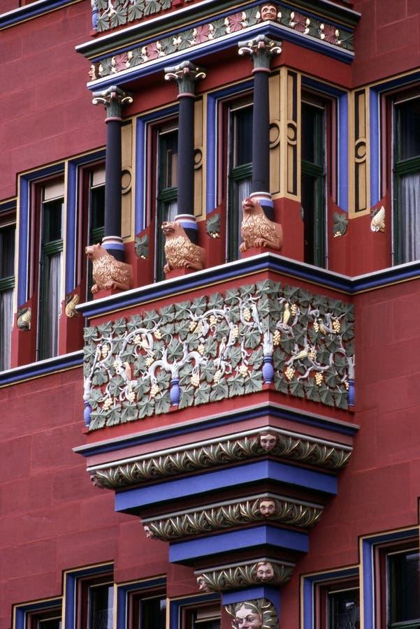 城镇厅,巴塞尔 图库摄影