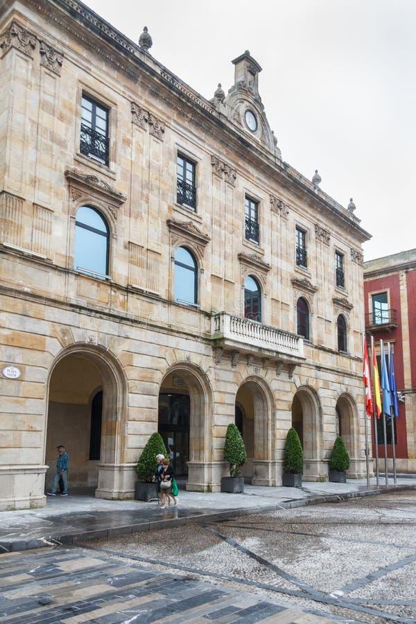 城镇厅 免版税库存图片