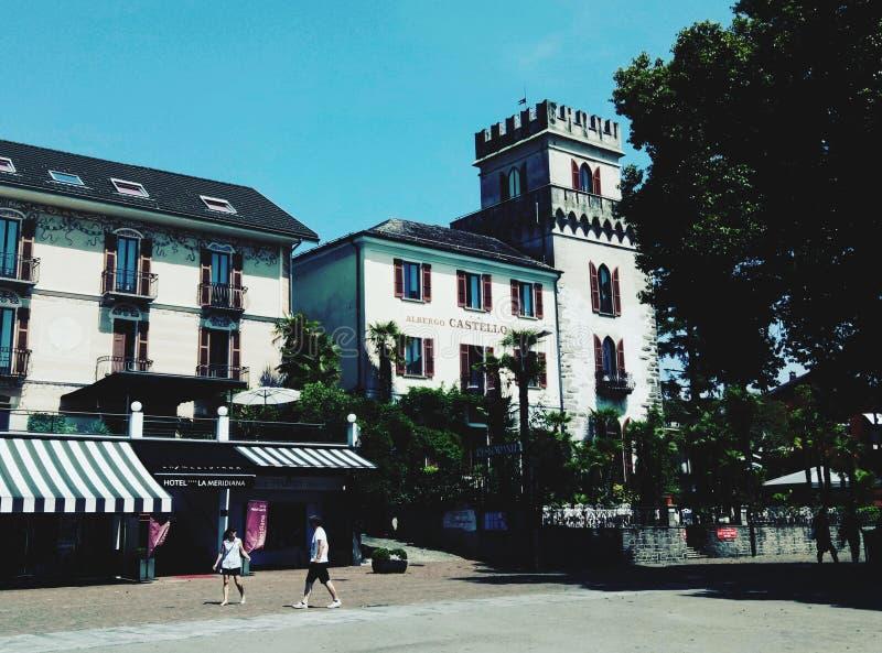 城镇 免版税图库摄影