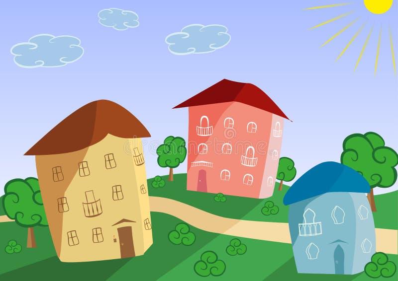 城镇 免版税库存图片
