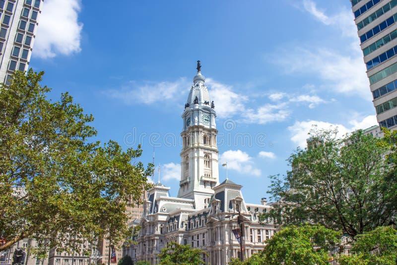 费城香港大会堂-美国全国古迹 免版税库存图片