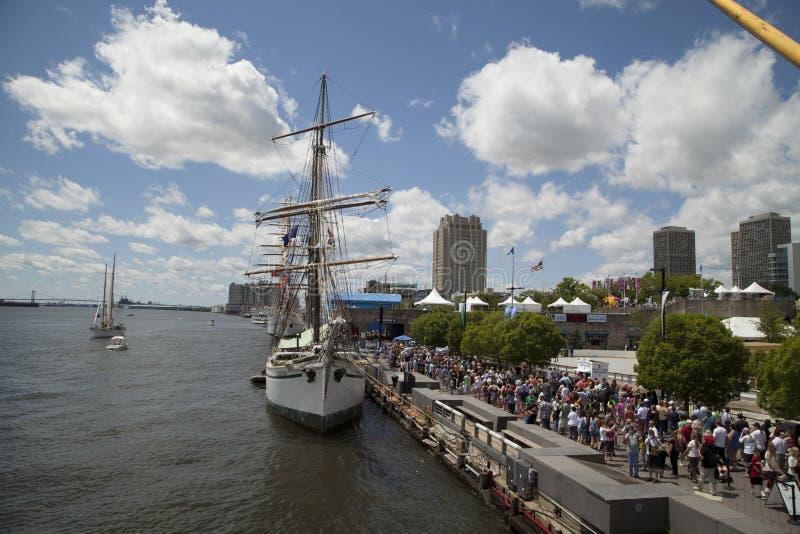 费城高船2015年 库存图片