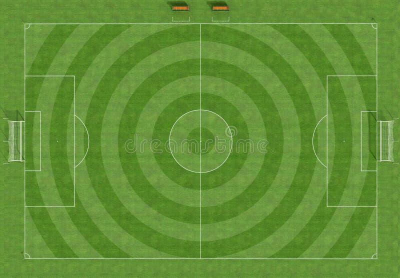 域喂解决方法足球 向量例证