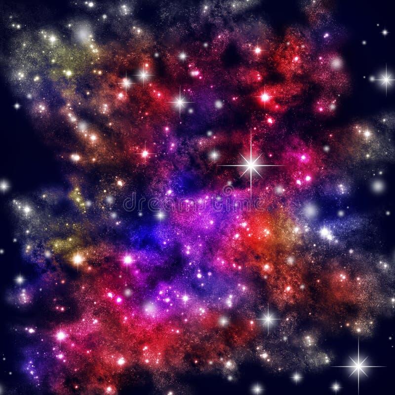 域星形 向量例证