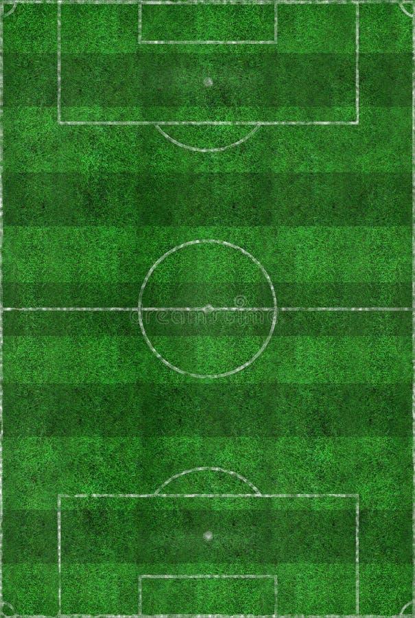 域格式足球 库存例证