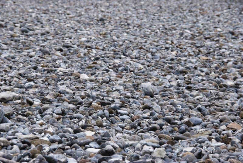 域燧石小卵石ruegen 库存图片