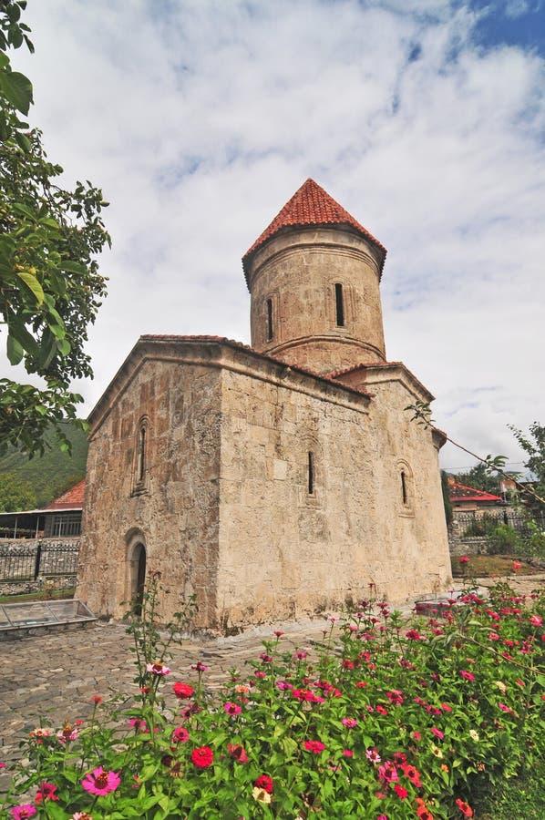 基什岛教会  免版税图库摄影