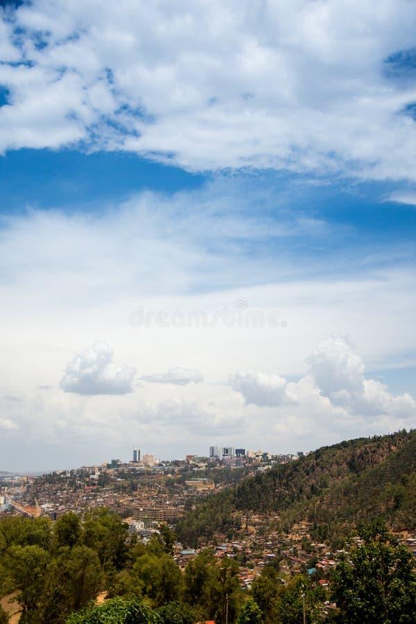 基加利,卢旺达 免版税库存照片