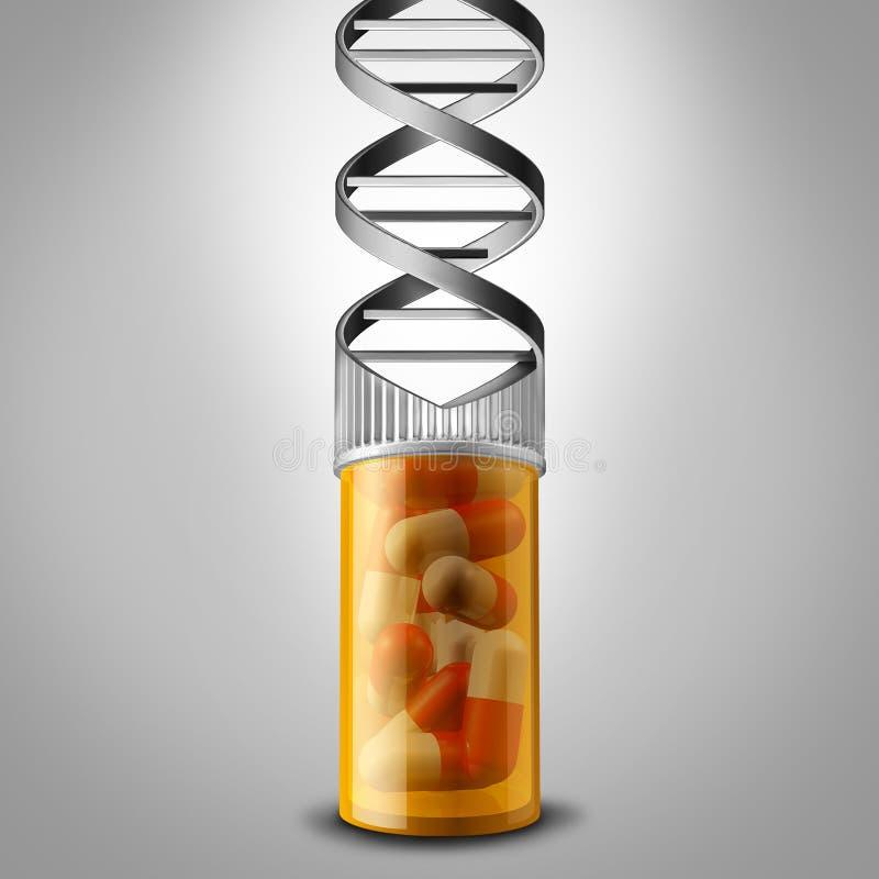 基因医学 库存例证