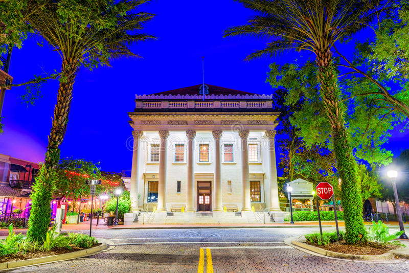 基因斯维尔,佛罗里达,美国 免版税图库摄影