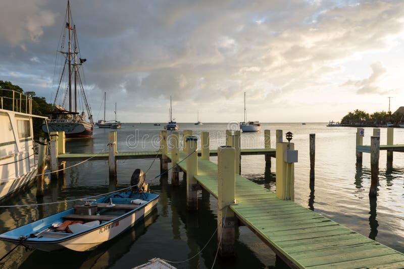 基拉戈的船坞 库存照片