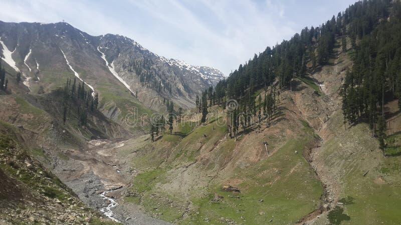 巴基斯坦的山 免版税图库摄影