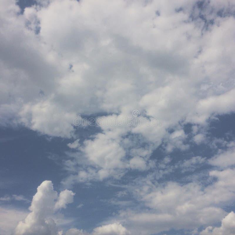 基本的天空 库存图片