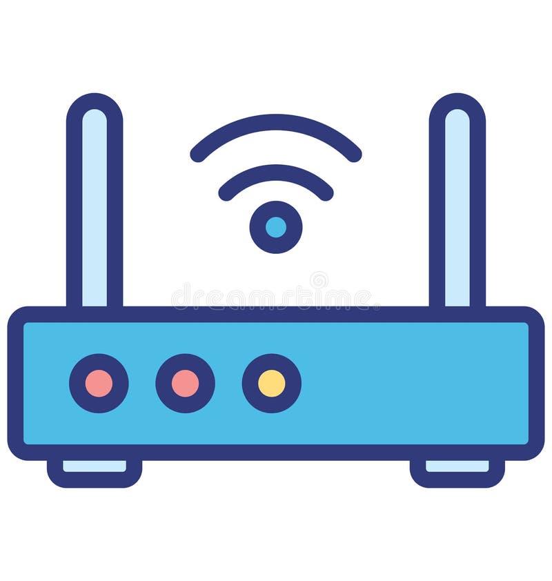 基本的能ea互联网助推器的RGB互联网助推器被隔绝的传染媒介象隔绝了可能容易地修改或编辑的传 库存例证