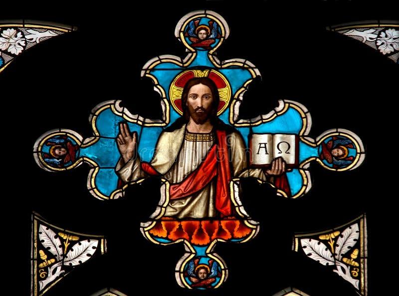 基督・耶稣视窗 图库摄影