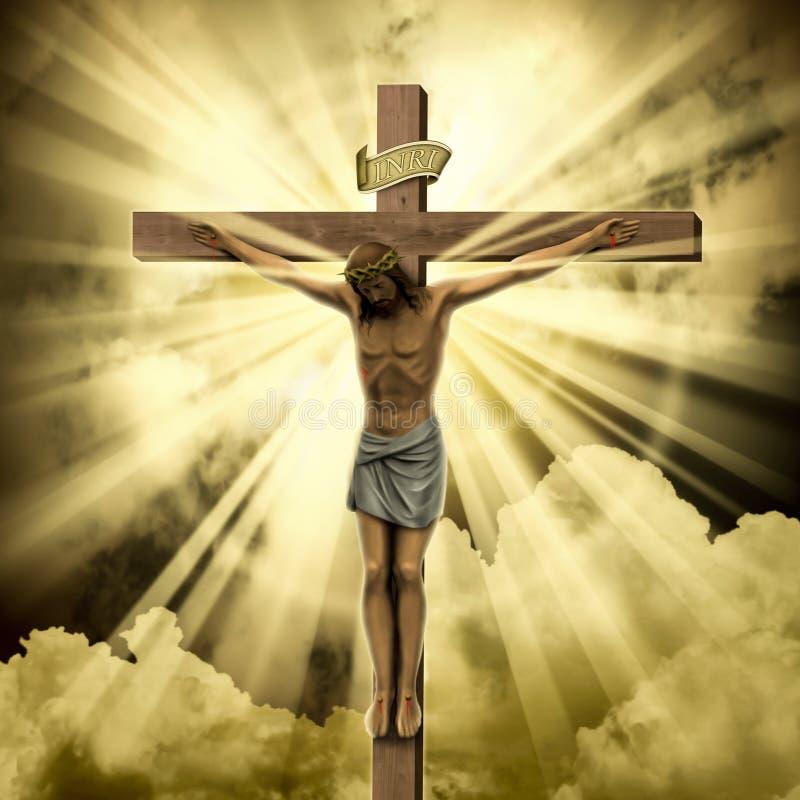 基督・耶稣 皇族释放例证