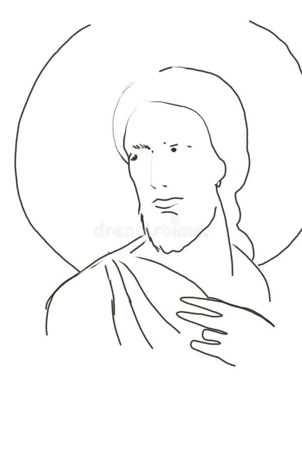 基督・耶稣 向量例证