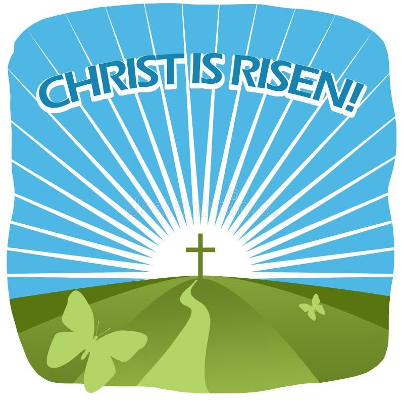 基督上升 免版税库存图片