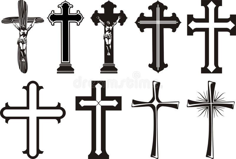 基督交叉s 皇族释放例证