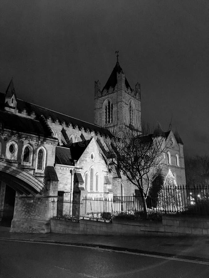 基督大教堂都伯林爱尔兰 免版税库存照片