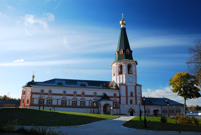 基督徒iversky修道院 免版税库存照片