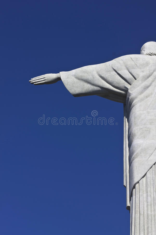 基督救世主在里约热内卢,巴西 库存图片
