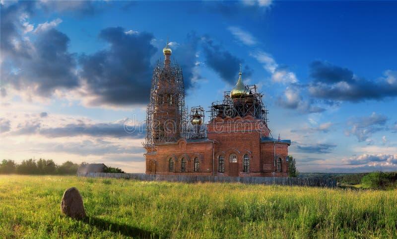 基督教会中间名俄国 免版税库存照片
