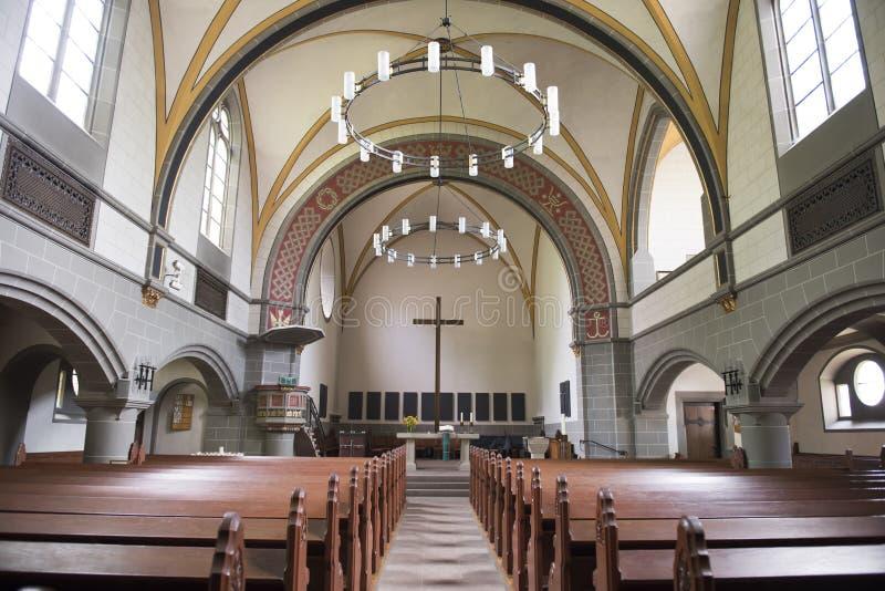 基督教会卡塞尔 库存图片