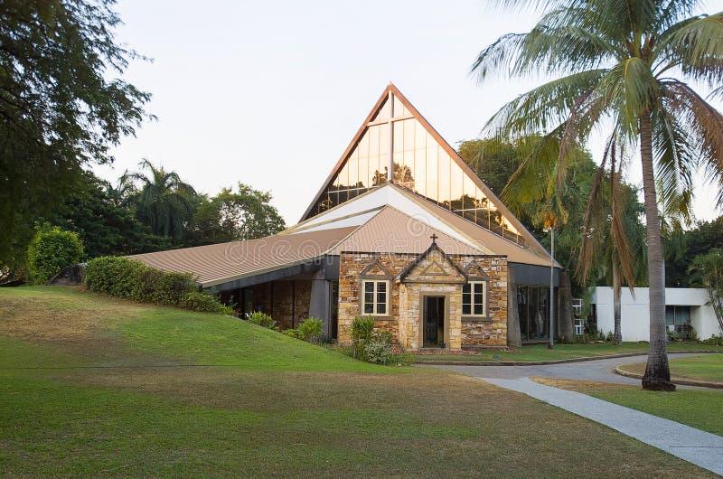 基督教会大教堂达尔文 图库摄影