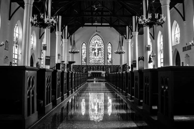 基督教会座堂在拿骚 免版税图库摄影
