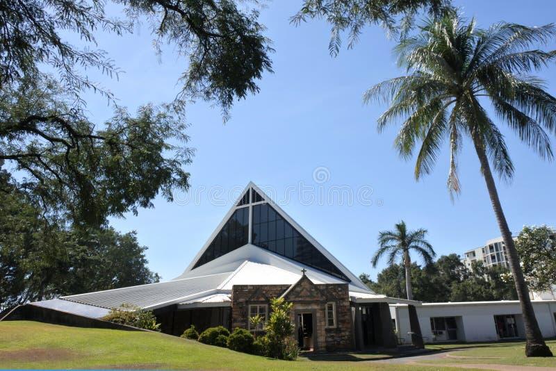 基督教会座堂达尔文北方领土澳大利亚 免版税库存照片