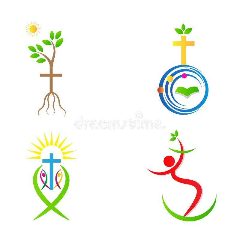 基督教十字架 向量例证