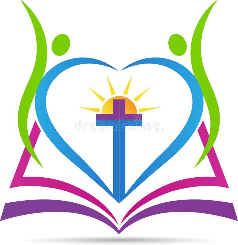 基督教十字架 库存例证
