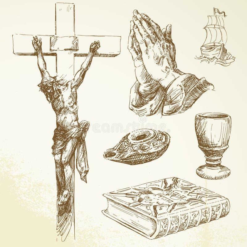 基督教 皇族释放例证