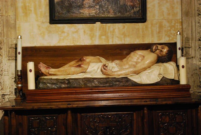 基督死的法坛 库存图片