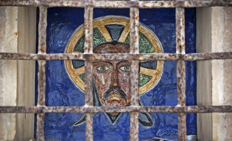 基督的图象 免版税库存图片